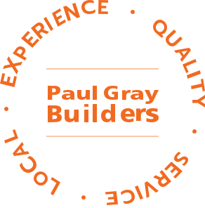 paul gray builders logo